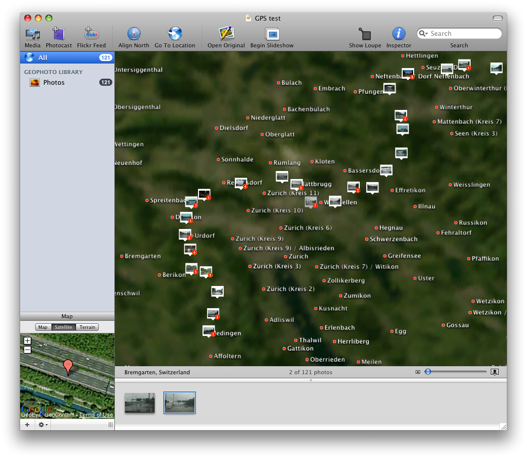 Review: Geotagging software comparison for the Mac | trick77 com